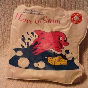 I LOVE TO SWIM BATH BOOK
